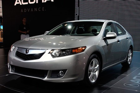 Acura Hybrid on Of The 2009 Acura Tsx The Redesigned 2009 Acura Tsx Was Revealed Live