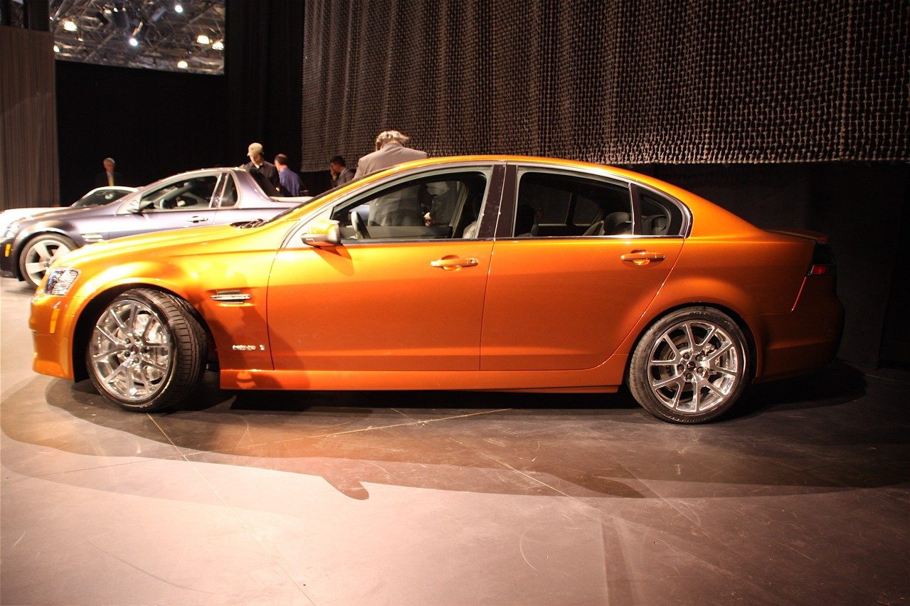 2008 Pontiac G8 Gxp Related Infomation Specifications