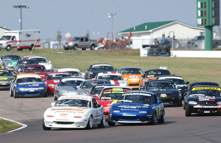 Spec Miata is merely one racing class in the club racing program