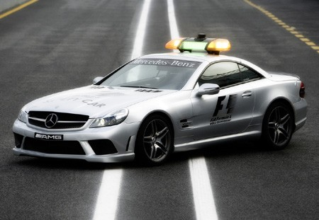 2008 F1 Safety Car - SL 63 AMG