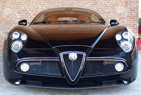 click above to see more images of the alfa 8c up for sale
