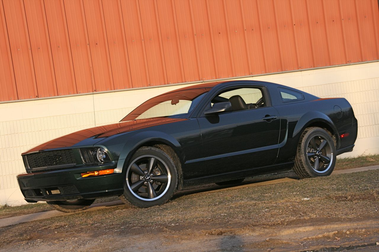 Autoblog Garage 2008 Ford Mustang Bullitt Photo Gallery