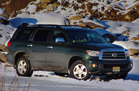 Review 2008 Toyota Sequoia Limited Autoblog