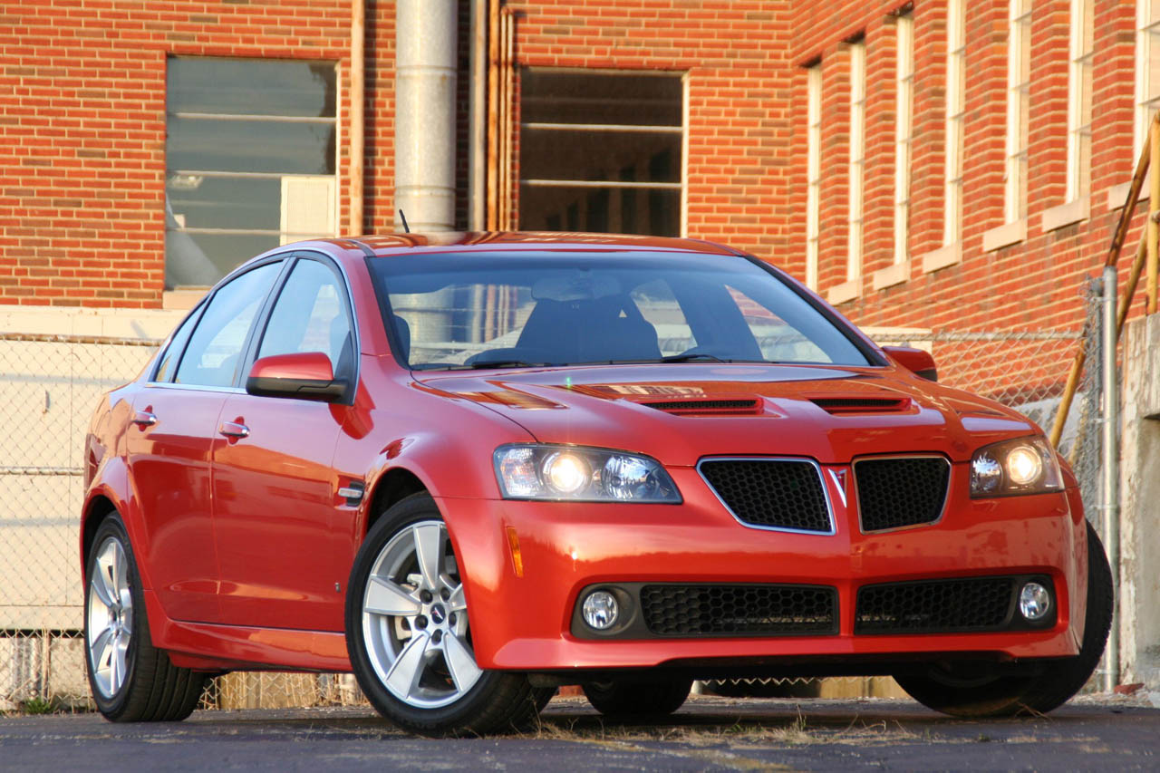 Review 2008 Pontiac G8 Gt Photo Gallery Autoblog