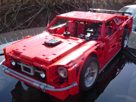 Click above to view more of the Lego Mustang in our gallery