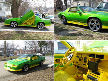 Racing Auto Rims on Craigslist Find Of The Day  Official Car Of Sprite  The Limon Camaro