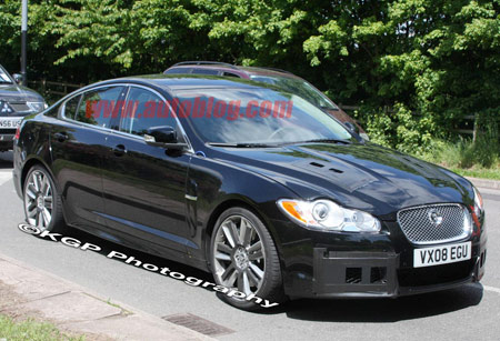 Spyshots on Click Above For High Res Gallery Of New Jaguar Xf R Spy Shots