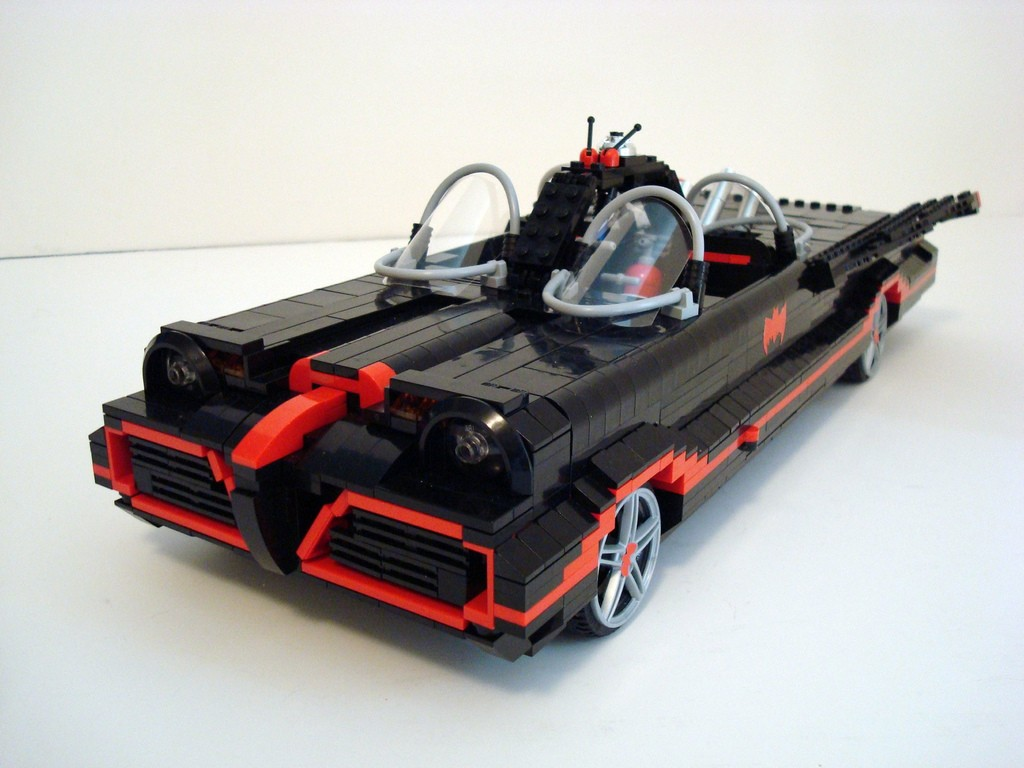 66 Batmobile In Lego Custom Build By Lino M Photo