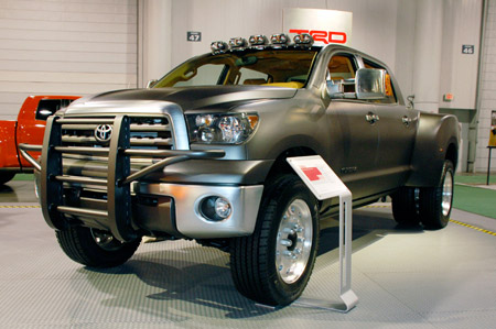 Click above for high-res gallery of the Diesel Dually Tundra