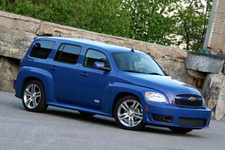 Review 2008 chevy hhr ss autoblog part of what makes the hhrs retro design so nostalgic are its chunky fenders that used to be all the rage some 60 years ago and here they look right at freerunsca Image collections