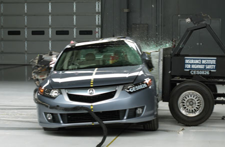 2008 Acura  on Acura Tsx Named Top Safety Pick By Iihs   Autoblog