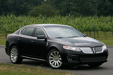 click above for high-res gallery of the 2009 Lincoln MKS