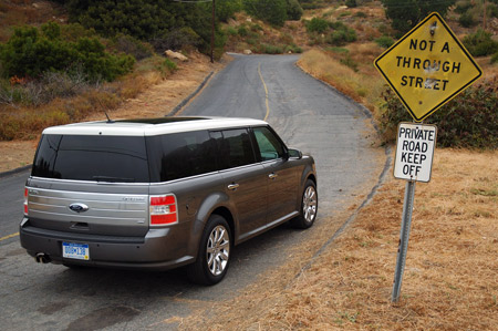 With Fuel Economy Taking Precedent Over Brute Power Ergo No V The Ford Flex Features The Familiar Duratec   Liter V Rated At  Horsepower And