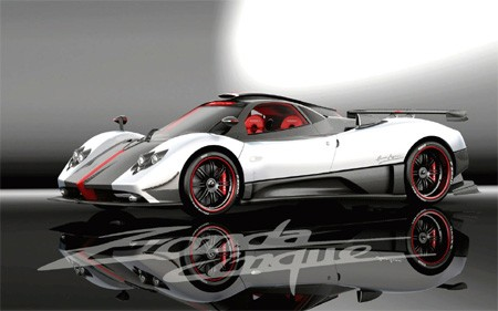 pagani zonda r. The newest Pagani is