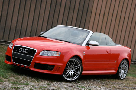 Audi RS4 Cabriolet – Click above for high-res image gallery