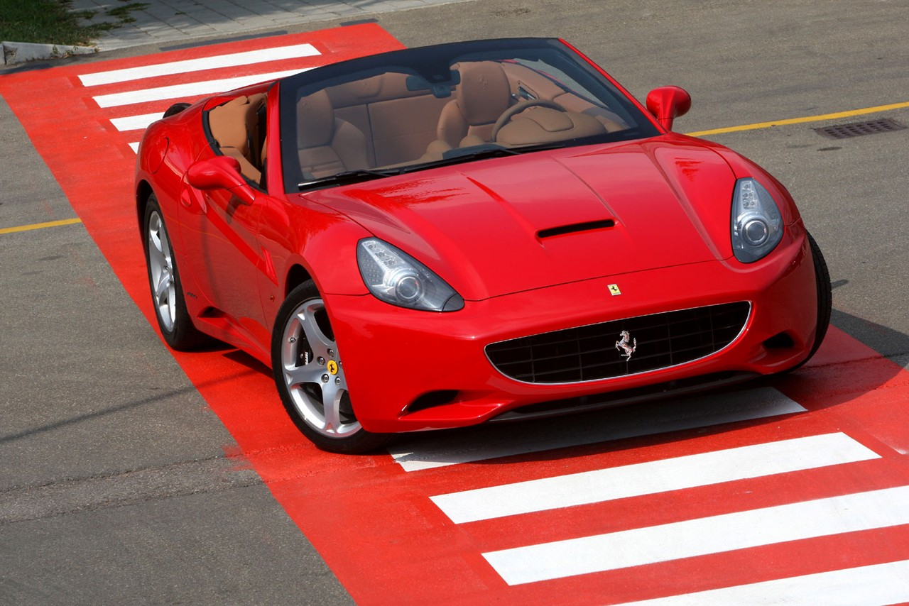 Even More Ferrari California