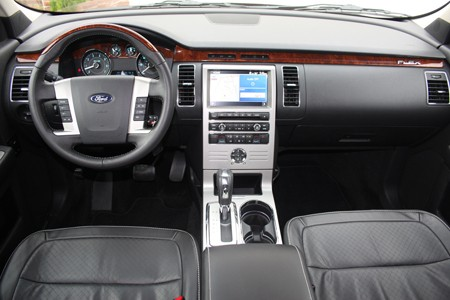Review 2009 Ford Flex Limited W Video Autoblog