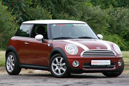 click on the MINI Cooper D for