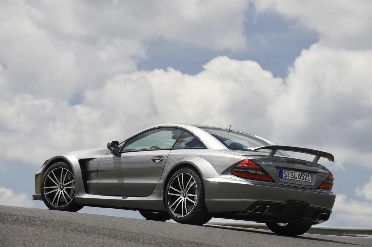 2009 Mercedes Benz Sl65 Amg Black Series Photo Gallery