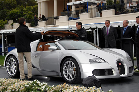 monterey 2008 bugatti veyron 16 4 grand sport. Black Bedroom Furniture Sets. Home Design Ideas