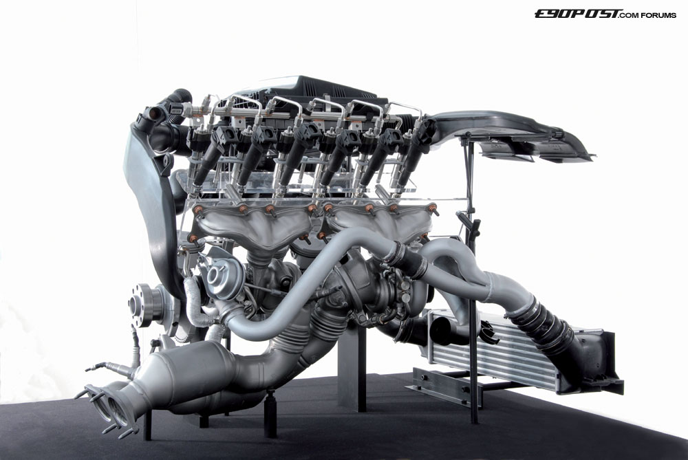 Bmw N54 Engine And Turbos Photo Gallery Autoblog