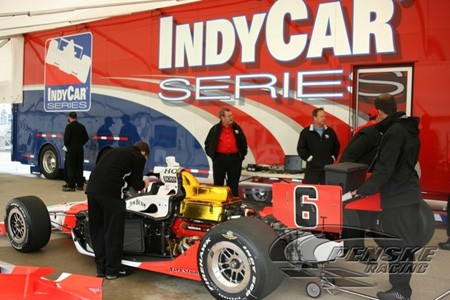 Auto Racing Disasters on Penske S Indy Racing Team Suffered Disaster Early This Morning When