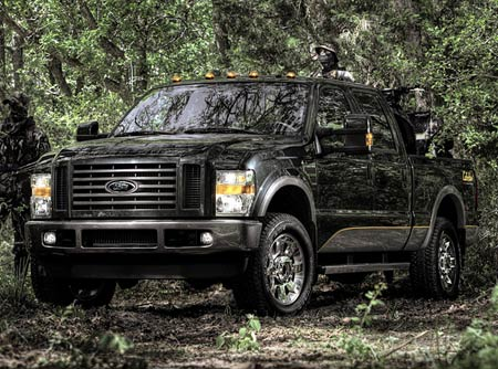 Ford officially reveals F-450 Harley-Davidson and F-X4 Cabela ...