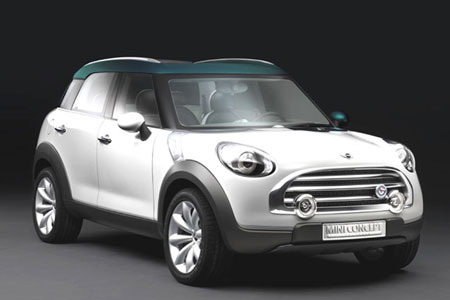 Paris Preview: 2010 MINI Crossover Concept