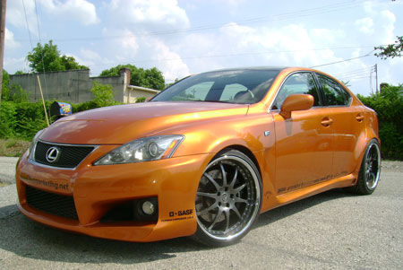 Lexus Is. The 2009 Lexus IS-F is slated