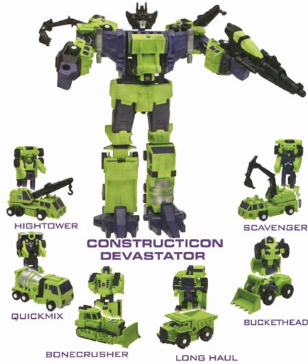 Transformers 2 To Feature Devastator 1 Decepticon Made Of 5