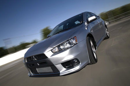 2008 Mitsubishi Evolution X MR – Click above for high-res image gallery