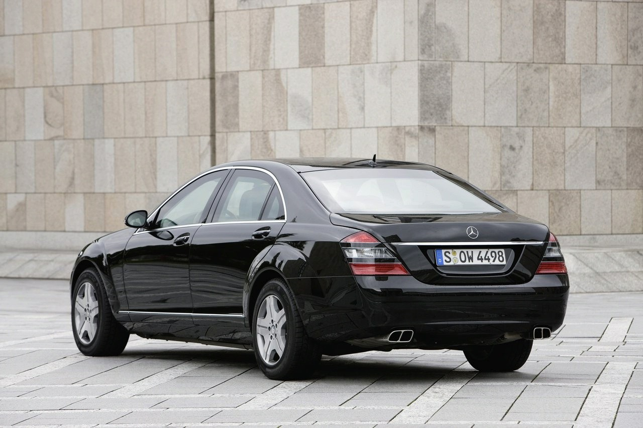 Mercedes Benz S600 Guard Pullman Limousine Photo Gallery