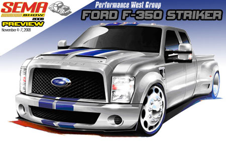 SEMA Preview: Performance West Group Ford F-350 Striker