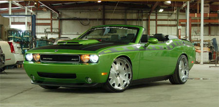 SEMA Preview: 560-hp Challenger Convertible that Dodge won't build