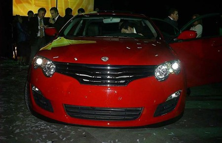 Roewe 550, 750 arrive in Chile as MGs