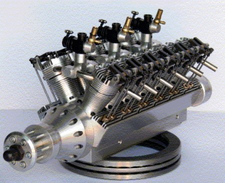 Mini V12 Engine For Sale on smallest chevy v8 engine