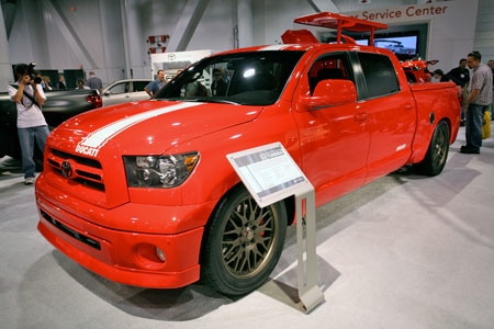 Souped-Up Toyota Tundra Truck