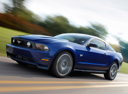 Click above for high-res gallery of the 2010 Ford Mustang