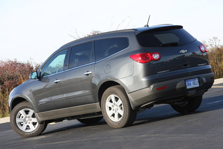 Chevrolet Traverse Interior Photos. Every Traverse also includes