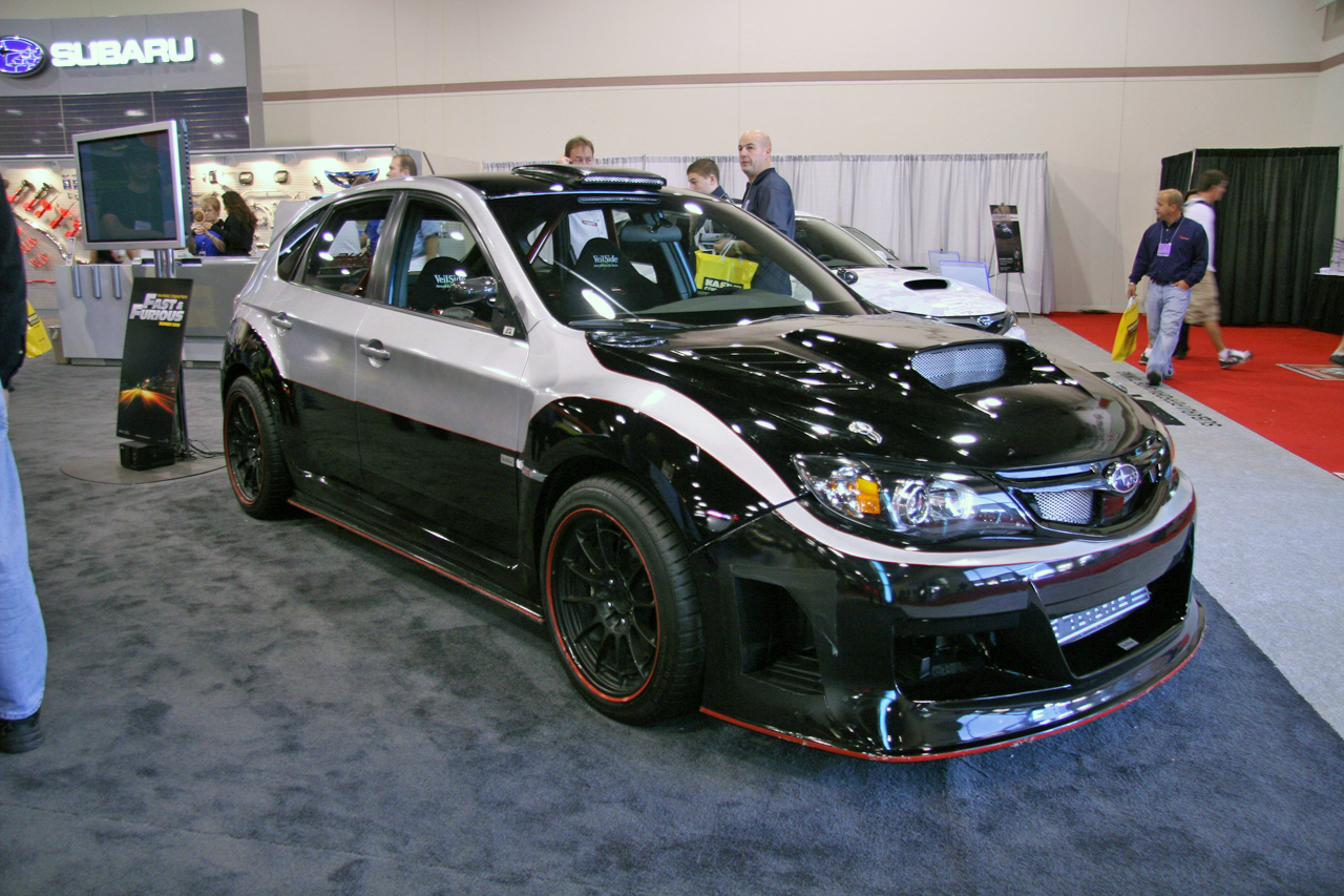 Sema subaru forester sti fnf wrx tremek car videos for Subaru forester paint job cost