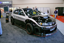 Sema 2008 subaru trots out forester xti concept and for Subaru forester paint job cost
