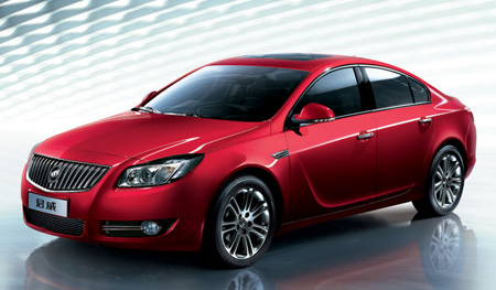 Click above for high-res gallery of Buick's new Regal in China