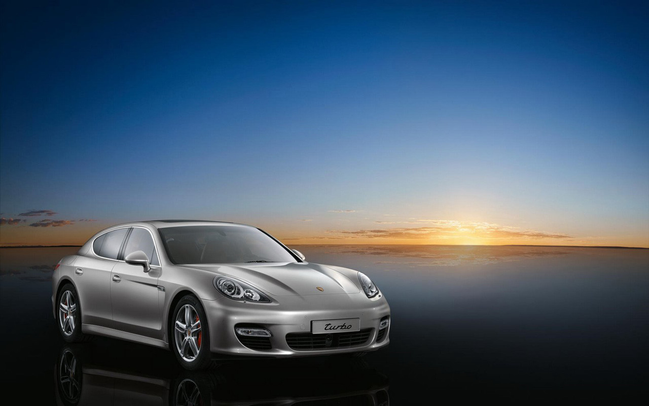 Porsche Panamera Debut At Chinese Motor Show In Shanghai