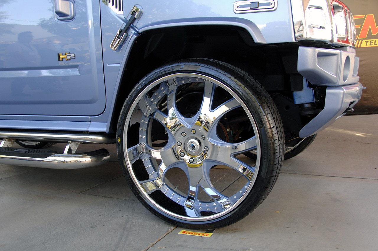 30 Inch Speakers And 30 Inch Rims : Sema battle of the inch wheels photo gallery