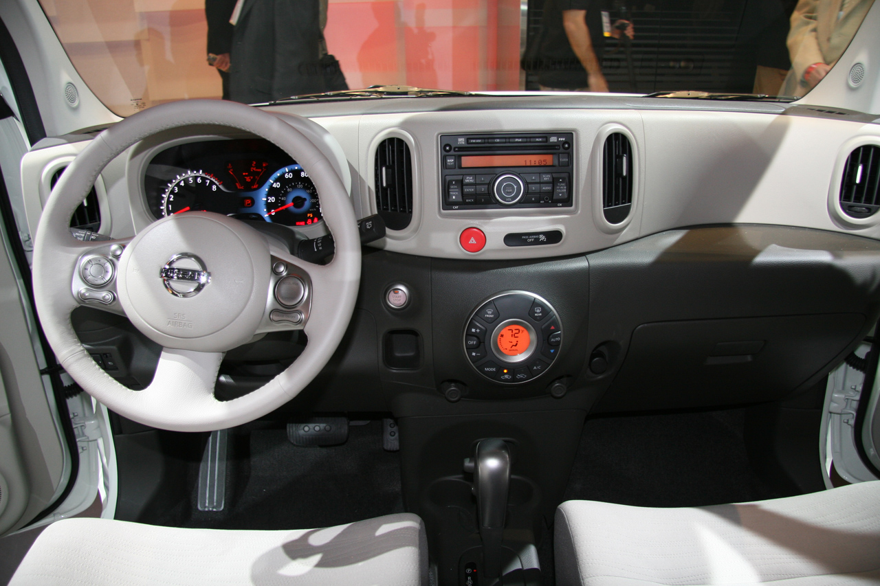 Cube Interiors Of Nissan Cube Topic Ufficiale 2008 Nissan Autopareri