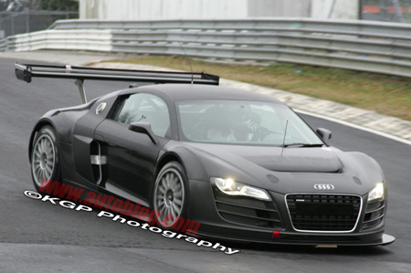 Spy Shots: Audi R8 GT3 caught