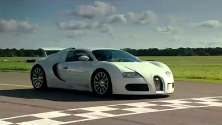 Fastest Auto Racing  on Bugatti Veyron Finally Does Power Lap On Top Gear  Is It The Fastest