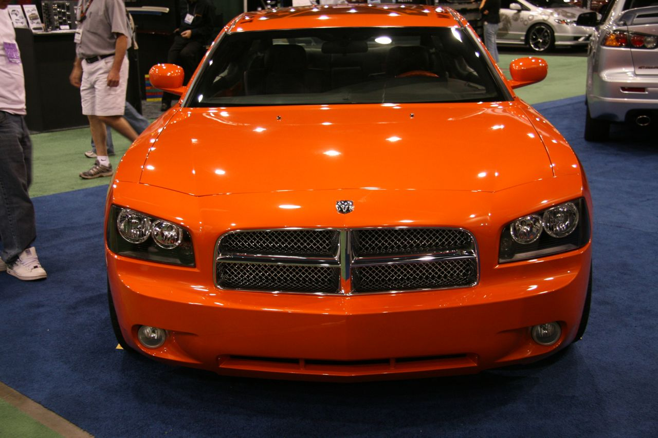 Sema 2008 General Lee Charger Coupe Photo Gallery Autoblog