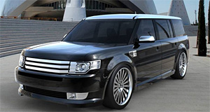 Sema 2008 A Baker S Dozen Concepts Stretch Ford Flex