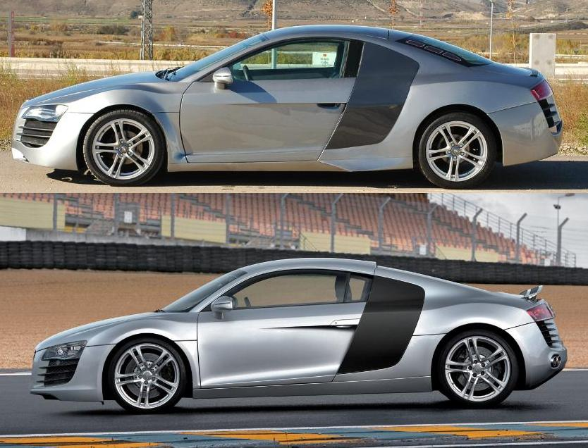 Mercury Cougar transformed into convincing Audi R8